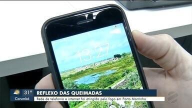 Corumbá enfrenta apagão de internet - Cidade ficou sem comunicação durante toda a tarde de sábado