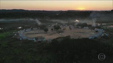 Justiça do Pará dá liminar de reintegração de posse a índios Xikrin - Terra Indígena Trincheira/Bacajá tem sido alvo de extração ilegal de madeira, grilagem de terra e garimpo ilegal. Posseiros têm sete dias para sair.