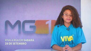 Vem aí: Viva a Rua em Sabará - O tema desta edição será teatro.