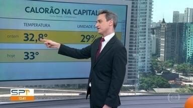 Tarde na capital pode ser a mais quente do inverno - A temperatura pode chegar aos 33 graus hoje (10)