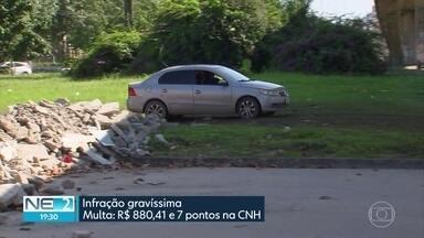 Motoristas enfrentam problemas na BR-101, na área da UFPE - Obras estão sendo realizadas na região
