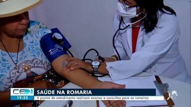 Postos de atendimento para romeiros são instalados em Juazeiro do Norte - Confira mais notícias em g1.globo.com/ce