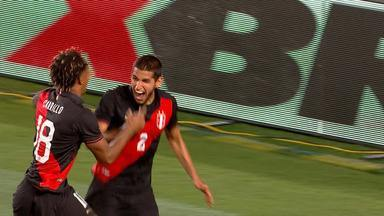 O gol de Brasil 0 x 1 Peru pelo Amistoso Internacional - O gol de Brasil 0 x 1 Peru pelo Amistoso Internacional.