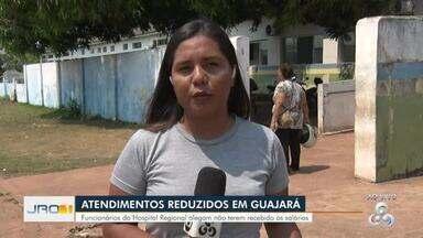 Atendimentos reduzidos em Guajará-Mirim - Funcionários alegam não ter recebido os salários.