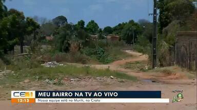 Meu bairro na TV visita o bairro Muriti, no Crato - Saiba mais em g1.com.br/ce