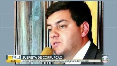 """Justiça mantém afastamento de vereador de Petrópolis - Paulo Igor é acusado de manter """"mensalinho"""" na Câmara de Vereadores."""