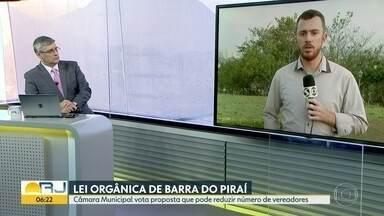 Câmara de Barra do Piraí pode reduzir número de vereadores - A votação está na pauta desta quinta-feira (12).