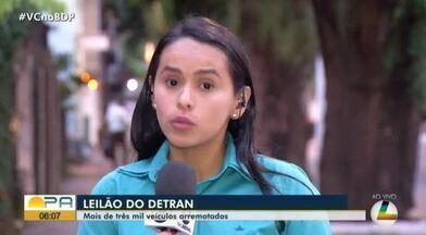 Detran também realiza leilão, no fim deste mês em Belém - Mais de 900 veículos devem ser arrematados.