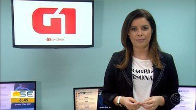 Joelma Gonçalves conta os destaques do G1 Sergipe nesta quinta-feira (12/08) - Um deles é o concurso público em Cedro de São João.