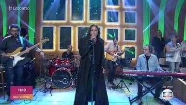 Fafá de Belém canta 'Toda Forma de Amor' - Cantora coloca todo mundo pra dançar no Encontro