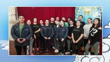 """SOS São Pedro: grupo """"Bailado Gaúcho"""" pergunta como vai ser o tempo em Nova Prata - Assista ao vídeo."""