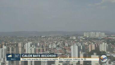 Confira a previsão do tempo para a região de Campinas nesta quinta-feira (12) - Veja a temperatura prevista para esta quinta-feira (12) e se programe.