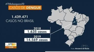 Dados do Ministério da Saúde mostram aumento nos casos de dengue no Tocantins - Dados do Ministério da Saúde mostram aumento nos casos de dengue no Tocantins