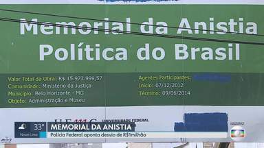 Onze são indiciados por irregularidades na construção do Memorial da Anistia, em BH - Os indiciados são professores, servidora e bolsistas da Universidade Federal de Minas Gerais (UFMG). Instituição disse que seguiu regras e cronogramas.