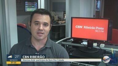 Confira os destaques da rádio CBN Ribeirão nesta sexta-feira (13) - Repórter Marcius Ariel comenta as notícias mais importantes do dia.