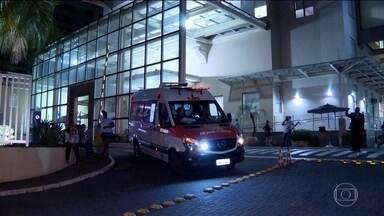 Mais de 90 pacientes do Badim são transferidos para outras unidades de saúde - Esquema foi montado para transferir pacientes do Hospital Badim para outras unidades de saúde públicas e particulares. Uma senhora que estava internada no hospital está desaparecida.