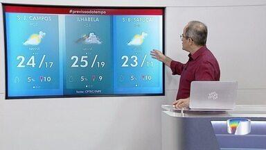 Confira previsão do tempo para esta sexta-feira - Dia amanheceu mais frio, mas temperaturas devem ficar altas novamente.