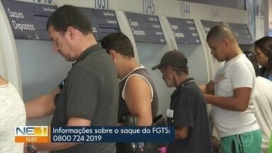 Caixa começa a liberar saques do FGTS e amplia horário de agências - Mais de 3 milhões de pessoas têm direito a sacar até R$ 500 em Pernambuco.