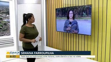 Semana Farroupilha começa nesta sexta (13) em Boa Vista - Tradicional festa gaúcha conta com uma extensa programação cultural no Centro de Tradições Gaúchas.