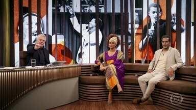 """Luciana e Jair contam como Jair Rodrigues gravou a música """"Majestade O Sabiá"""" - Música é uma composição de sucesso de Roberta Miranda"""