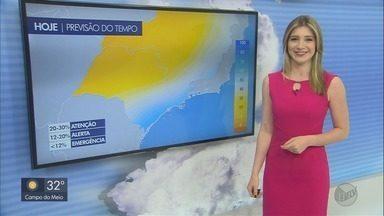 Confira a previsão do tempo para este sábado (14) no Sul de Minas - Confira a previsão do tempo para este sábado (14) no Sul de Minas