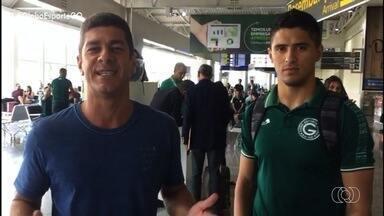 Goiás embarca para Porto Alegre; confira as últimas notícias do Verdão - Globo Esporte viaja com o elenco esmeraldino para o jogo contra o Grêmio