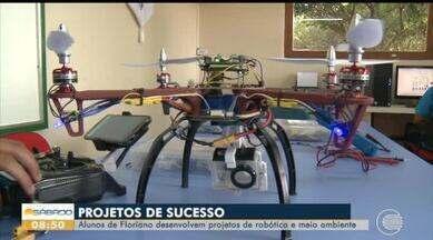 Estudantes de Floriano desenvolvem projetos para ajudar meio ambiente - Estudantes de Floriano desenvolvem projetos para ajudar meio ambiente