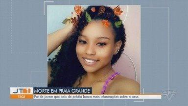 Polícia investiga morte de adolescente que caiu de prédio em Praia Grande - Jovem caiu do décimo andar de um prédio em Praia Grande.