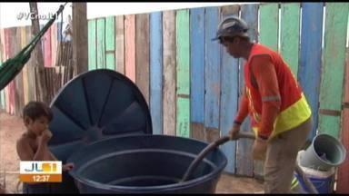 Moradores de comunidade em Altamira denunciam problemas no abastecimento de água - Moradores de comunidade em Altamira denunciam problemas no abastecimento de água
