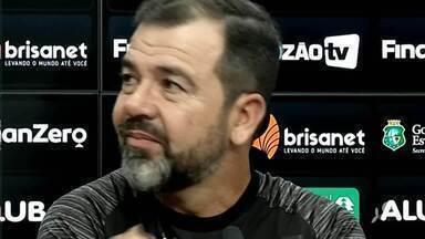 Enderson Moreira comenta situação de jogadores e projeta confronto com Botafogo - Enderson Moreira comenta situação de jogadores e projeta confronto com Botafogo