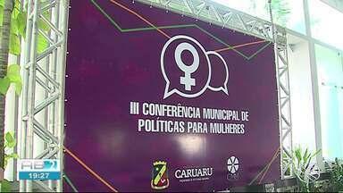 3ª Conferência Municipal de Políticas para as Mulheres é realizada em Caruaru - Evento aconteceu em salão de recepções