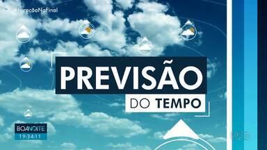 Domingo será de sol e calor intenso na região de Londrina - Temperaturas alcançam os 36º em Bandeirantes, 37º e Arapongas e 38º em Rolândia.