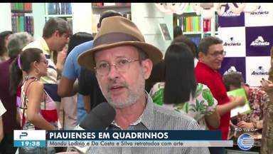 Personagens históricos do Piauí têm vidas transformadas em história em quadrinhos - Personagens históricos do Piauí têm vidas transformadas em história em quadrinhos