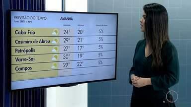 Confira a previsão do tempo para o interior do Rio - Veja as temperaturas para o domingo (15).