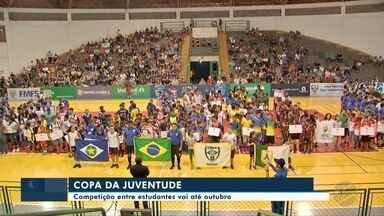 Copa da Juventude reúne 1,6 mil atletas e vai até outubro - Copa da Juventude reúne 1,6 mil atletas e vai até outubro.
