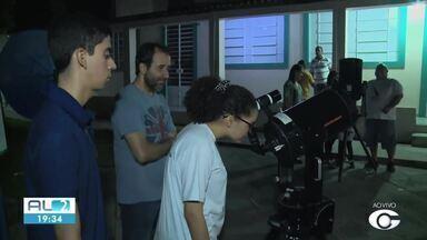 Usina Ciência está aberta para observação da lua cheia neste sábado - Equipamentos estão disponíveis para o público até às 22h.