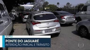 SP2 - Edição de sábado, 14/9/2019 - Retomada de interdições na Ponte do Jaguaré causa congestionamentos. Duas mulheres morrem em acidente em Jundiaí. E mais as notícias do dia.