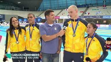 Revezamento brasileiro brilha no Mundial de Natação Paralímpica e vira esperança para Tóquio - Revezamento brasileiro brilha no Mundial de Natação Paralímpica e vira esperança para Tóquio