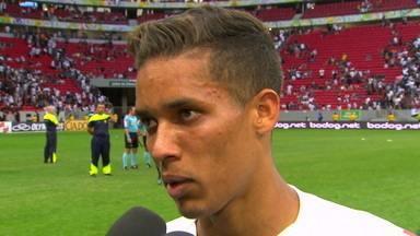"""Pedrinho afirma que Corinthians pecou nas finalizações: """"Criamos chances"""" - Pedrinho afirma que Corinthians pecou nas finalizações: """"Criamos chances"""""""