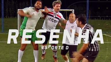 Resenha 2019: Garotinhos comentam resultados do primeiro turno do Brasileirão - Dos times paulistas, apenas o Palmeiras comemorou a vitória na última rodada do primeiro turno. Corinthians e Santos perderam, e o São Paulo empatou.
