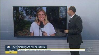 Prefeitura de Guarujá mapeia áreas de poluição na cidade - Administração municipal quer ter informações sobre as áreas mais poluídas.