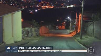 Policial é morto a tiros, em Ibirité, na região metropolitana de Belo Horizonte - O carro em que ele estava foi baleado por dois homens. A cunhada dele e o sobrinho, de um ano, ficaram feridos.