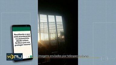 Moradores relatam intenso tiroteio pelo segundo dia seguido no Jacarezinho - Moradores relatam intenso tiroteio pelo segundo dia seguido de operações da polícia no Jacarezinho, Zona Norte.