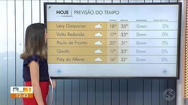 Terça-feira será de sol e muito calor no Sul do Rio de Janeiro - Confira como ficam as temperaturas em algumas cidades da região.