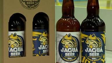 Mogi Basquete lança cerveja com a marca da equipe - A iniciativa é para comemorar as vitórias do time.