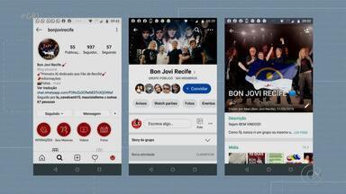 Fãs de Bon Jovi estão ansiosos para show em Recife - O show dele vai ser neste domingo, e já tem fã na expectativa.