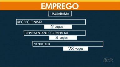 Agência de Umuarama oferta hoje mais de 130 vagas de emprego - Em Paranavaí, tem 42 vagas abertas.