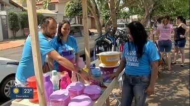Mulheres microempresárias de Campo Grande se unem para aumentar vendas - A cidade já tem várias feiras livres comandadas por ela.