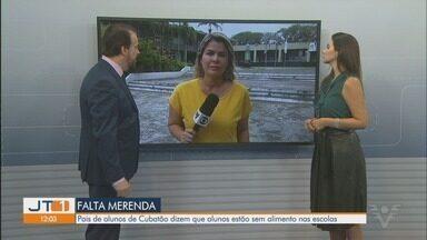 Pais reclamam de falta de merenda em escolas de Cubatão - Pais de escolas municipais de Cubatão reclamam há duas semanas de falta de merenda nas unidades.