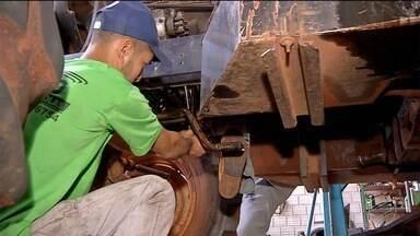 Antes de cada safra, produtor tem de fazer revisão no maquinário - Trabalho preventivo ajuda a evitar dor de cabeça durante o trabalho diário.